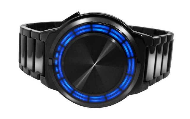 Kisai RPM SS LED Watch