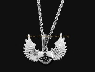 Vivienne Westwood Angel Wing Necklace - chanelearrings.org