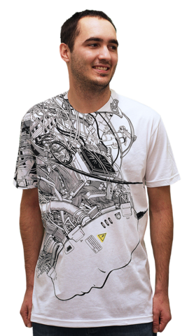 Virtual Reality T-shirt by Davi_Augusto from Design By Humans