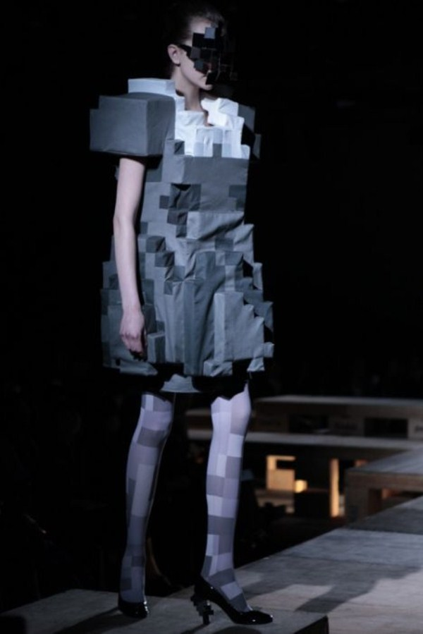 Weird 8-bit Fashion