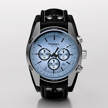 Chronograph Blue Dial Watch - FOSSIL