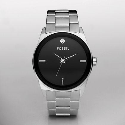 Analog Gunmetal Dial Watch - FOSSIL