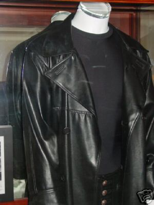 BRANDON LEE THE CROW / Movie Replica COAT - Southbeach Leather