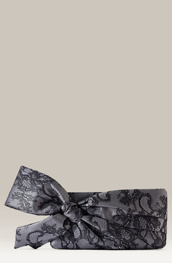 Valentino Lace Bow Clutch - NORDSTROM
