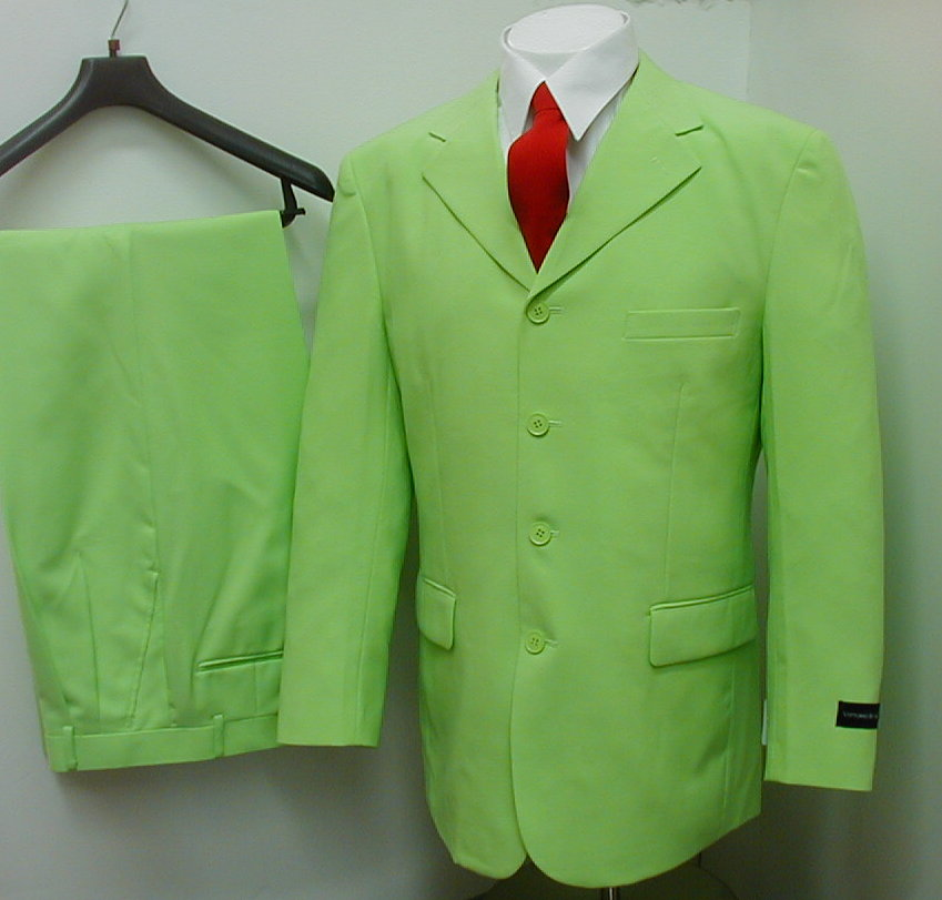 KELLY GREEN DRESS SUIT - Lucky 86