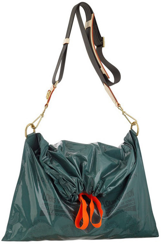 Louis Vuitton's $1,960 Trash Bag Purse (PHOTO, POLL)