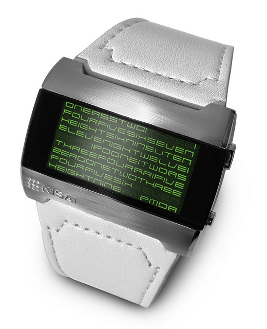 Kisai Kaidoku LCD Watch