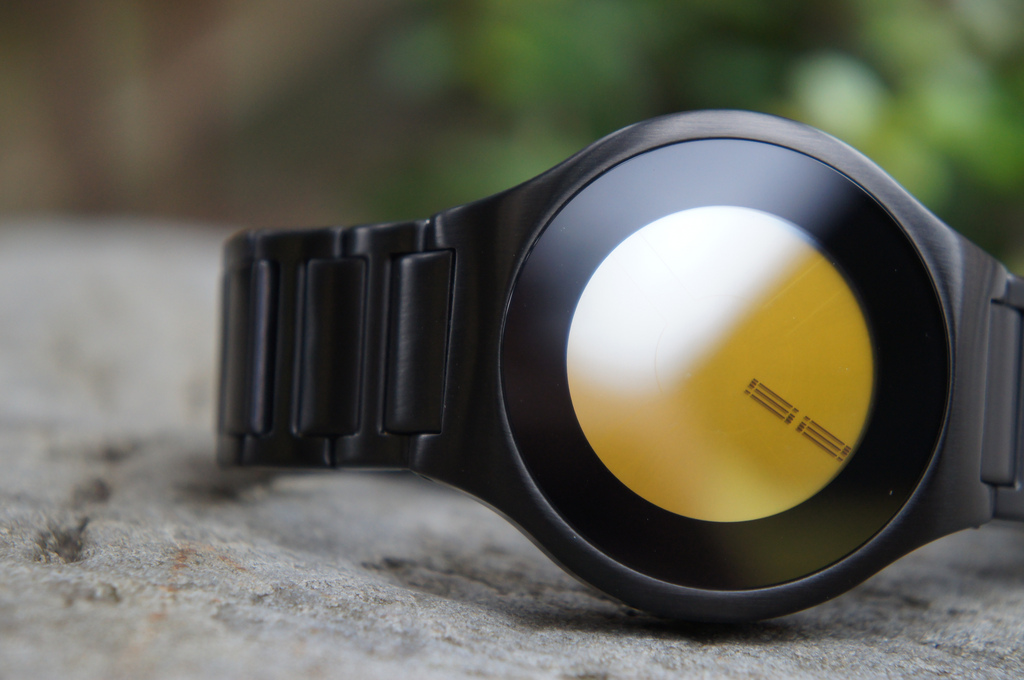 Kisai On Air Black LED Watch