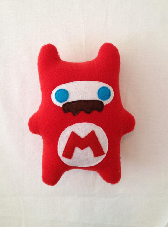 Super Red Ninja Bear by ChibiCraft on Etsy